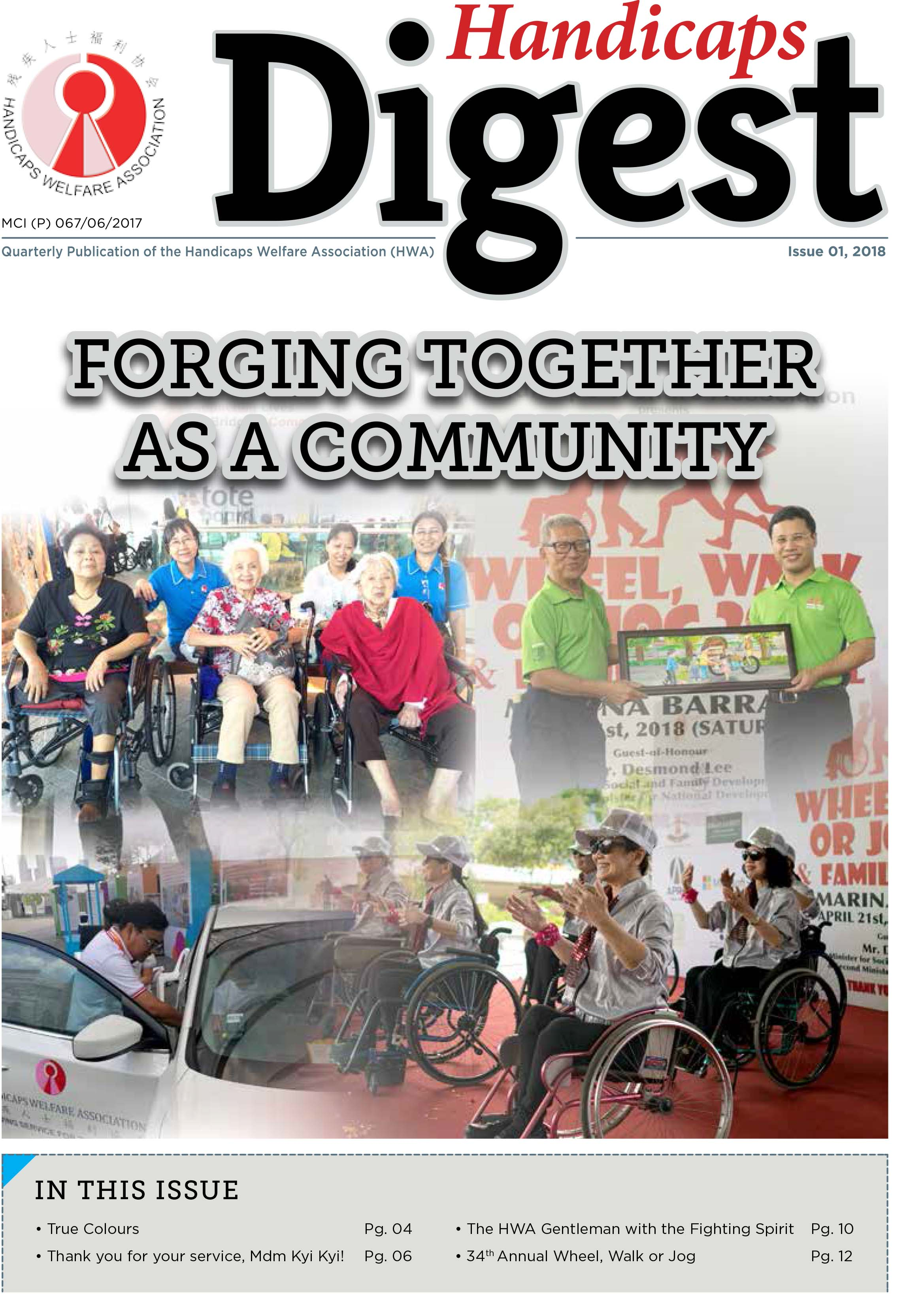 "HWA Issue 1 2018_D1 ""Forging Together As A Community"""